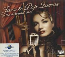 Jazz & POP Queens of the 40s & 50s = Walsh/Garcia = Swing Big Band Blues