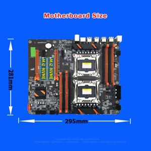 X99 CPU Motherboard 2011 V3 2666/2400/2133Mhz DDR4 Dual Xeon Desktop Mainboard