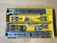 Ho Scale Ok Engines/ Streamliners Passenger Cars Metal Model Products Lot Of 2
