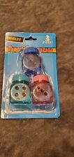 DICE PENCIL SHARPENERS - PACK OF 3