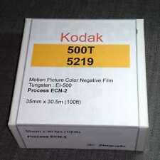 35mm - Kodak Vison3 500T/5219 motion picture color negative film, 100ft bulk