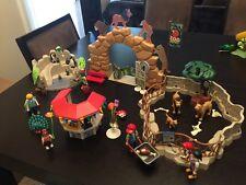 PLAYMOBIL City Zoo Kit, Large.  Animals, Lions, Penguins, Children, Balloons