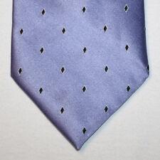 NEW Calvin Klein Silk Neck Tie Medium Purple with Black ans White Pattern 1419