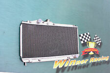 ALUMINUM RADIATOR for TOYOTA CELICA GT-4 ST165 2.0 3S-GTE TURBO ALL-TRAC 89-92