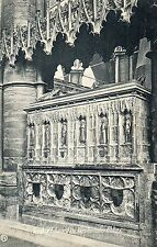 London Westminster Abbey  Edward 3rds tomb Valentine 1908 posted
