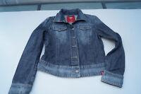 edc ESPRIT Damen Mädchen Jeans Jacke Jeansjacke Gr.M stonewashed blau TOP