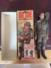 Gi Joe Action Soldier Early Boxed 3tm With Rare White Base