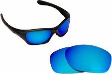 LenSwitch Polarized Replacement Lenses for Oakley Pit Bull Sunglasses Blue