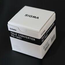 NEU Sigma tc-1401 1.4x Telekonverter Canon Digital Fit