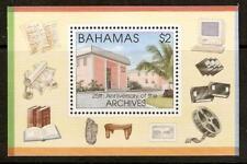 Bahamas SGMS 1095 1996 25th aniversario de los archivos departamento estampillada sin montar o nunca montada