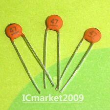 1000 PCS CERAMIC CAPACITOR 47pF/50V 47pF 50V 470