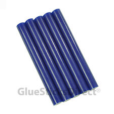 "Blue Faux Wax Colored Glue Sticks 7/16"" X 4""   5 sticks"