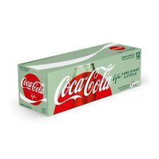 Coca Cola Life Cane Sugar & Stevia 12oz/12pk (Cans)