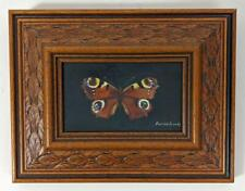 PATRICK FRANKS Oil Painting On Board BUTTERFLY
