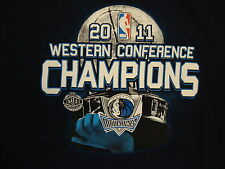 NBA Dallas Mavericks National Basketball 2011 Finals Champions Youth T Shirt XL