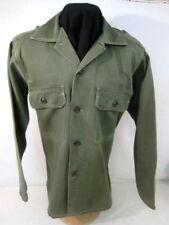 Vietnam US Army Sateen OG-107 Pattern 58 Utility Shirt Sz 15.5 x 32 - Early 60's