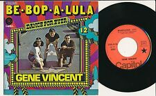 "GENE VINCENT 45 TOURS 7"" FRANCE BE-BOP-A-LULA"