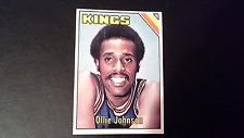 1975 Topps Basketball Ollie Johnson #51 Kansas City Kings