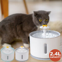 2.4L Automatic Electric Pet Water Bowl Clean Purified Drinking Dispenser