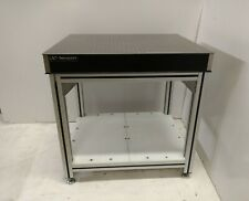 """crated 30""""x36"""" NEWPORT OPTICAL BREADBOARD TABLE, ADJUSTABLE HT 80/20 TYPE BENCH"""