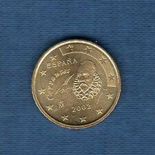 Espagne - 2002 - 10 centimes d'euro - Pièce neuve de rouleau -