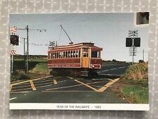 Manx Electric Railway Tram No7 Baldromma Isle of Man, Limited edition postcard