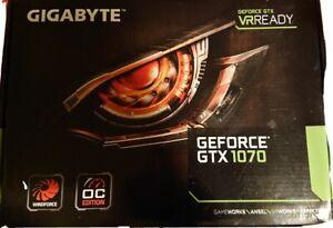 GIGABYTE NVIDIA GeForce GTX 1070 8Go GDDR5 Carte Graphique OC Edition