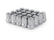 20pc 12x1.5 Bulge Chrome Bulge Lug Nuts (Ball Seat) for Acura Honda OEM Wheels