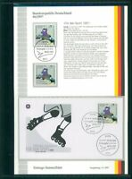 BRD ETSB 1997/4b ERSTTAGS-SAMMELBLATT FUN-SPORT INLINE-SKATING SKATER SPORTS