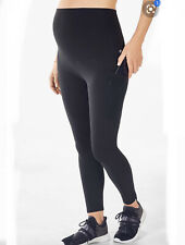 Fabletics Maternity High Waisted Pureluxe Pocket Legging XL Black Pant Tight Fit