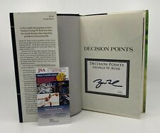 President George W. Bush Signed Decision Points Book Autographed Jsa Coa Auto