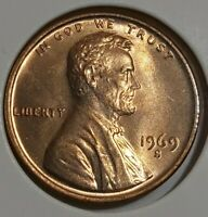 1969 S Doubled Die Penny.  1969 S DDO Lincoln  Memorial Cent.
