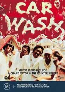 Car Wash DVD 1976 Richard Pryor & Pointer Sisters Comedy Movie Cult Classic