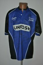 Sale Sharks Rugby Union Shirt Coton Traders Signed Jersey HR1
