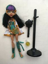 MONSTER HIGH DOLLS - CLEO DE NILE MATTEL FIGURE GHOULS MAD SCIENCE SERIES