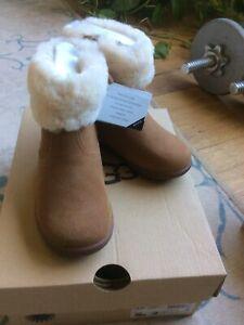 ugg boots toddler 8 Jorie II Chestnut NWB