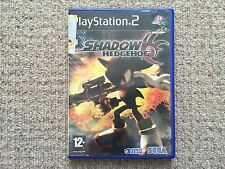 Shadow The Hedgehog - Sony Playstation 2 No Instructions PAL