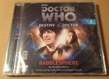 Doctor Who - Babblesphere Audio Book Cd Lalla Ward Roger Parrott 4TH SEALED!!