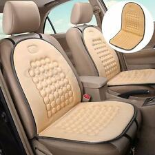 Beige Car Seat Cushion Therapy Massage Padded Bubble Foam Chair Seat Pad Cover
