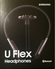 NEW Samsung U Flex Bluetooth Wireless In-ear EO-BG950 Headphones Neckband Black