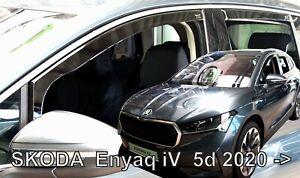 For SKODA ENYAQ IV  2020->   5.doors Wind deflectors 4.pc  HEKO  28360