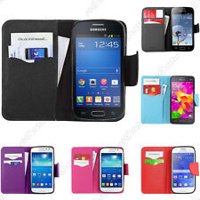 Housse Etui Coque Portefeuille Galaxy S6 S5 4 3 mini Trend Ace Alpha Grand Prime