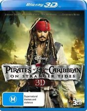 Pirates of the Caribbean 4 : On Stranger Tides 3D : NEW Blu-Ray