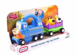 NEW LITTLE TIKES HANDLE HAULERS BIG TOP CHARLIE TRAIN LION TIGER 636172M
