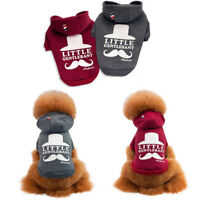 Pet Winter Warm Coat Sweater Dog Puppy Velvet Vest Jacket Clothes Hoodie New