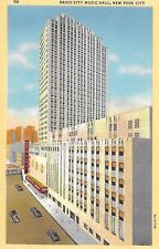 Vintage Linen - Radio City Music Hall, New York City