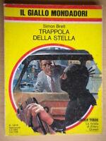 Trappola della stellaBrett SimonMondadorigiallo1618paris attore ottimo 30