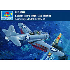 Trumpeter 02244 1/32 Scale US Navy SBD-3 Dauntless Midway Dive Bomber Model Kits