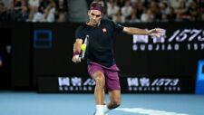 NEW Official Uniqlo Roger Federer Matchwear Tennis AU Open 2020 Shirt Size XL!