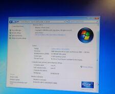 ASUS motherboard A8M2N-LA 160 GB Hard Drive Windows 7 32 bit installed ready to